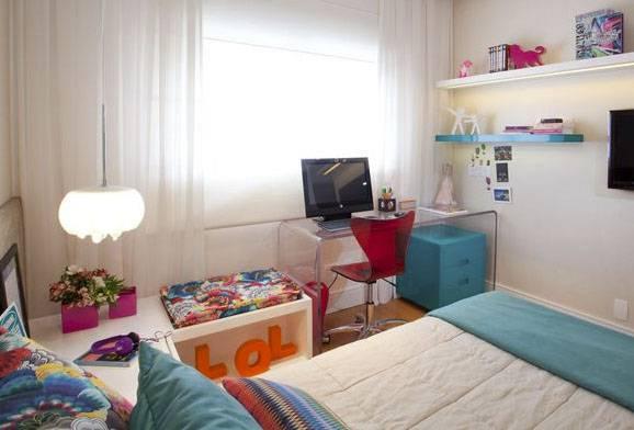 Decoração de quarto de solteiro