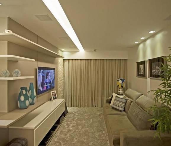 Iluminacao De Sala De Tv ~ Sala de TV é certeza de conforto dentro de casa