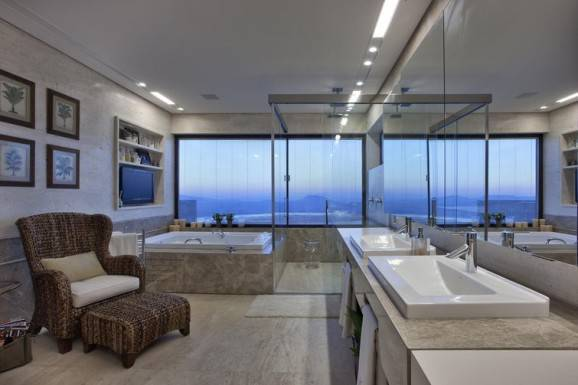 Banheiros planejados para o seu confor -> Banheiros Planejados Grandes