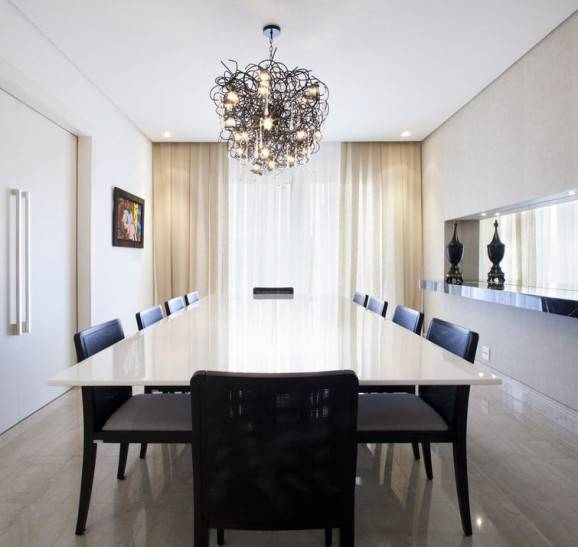 luminárias de teto lustre jantar