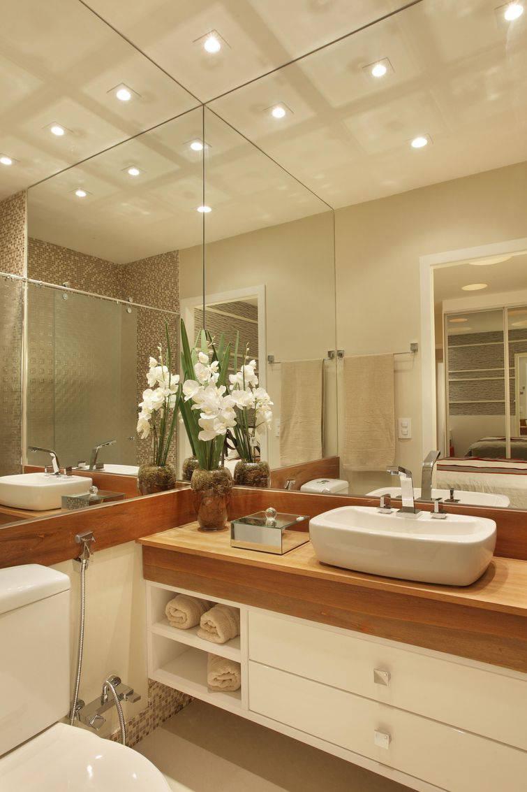 Banheiros planejados para o seu conforto -> Banheiro Decorado Casal