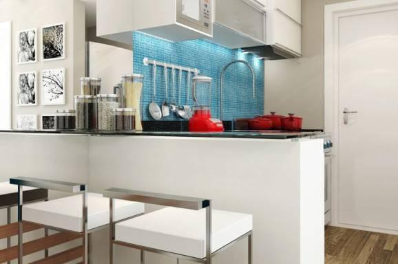 modelo de cozinha pequena