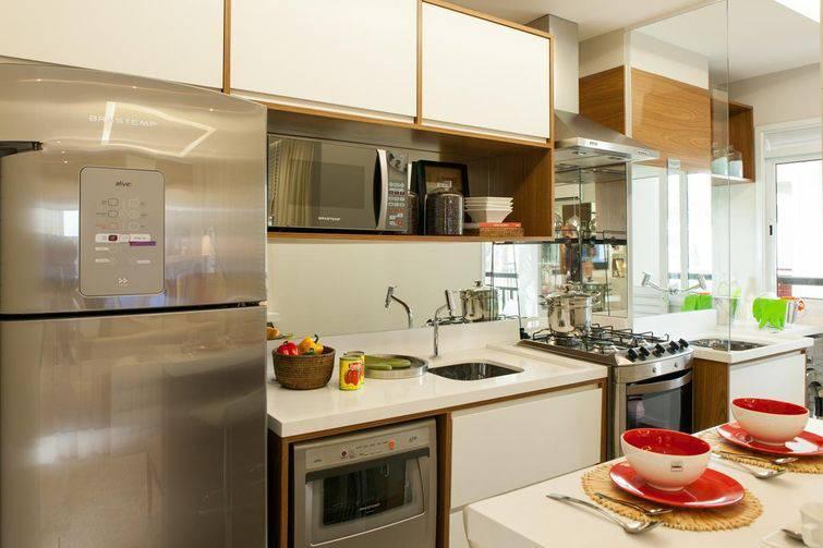 40 Cozinhas Pequenas com a Decoração Perfeita # Cozinha Planejada Pequena Bh