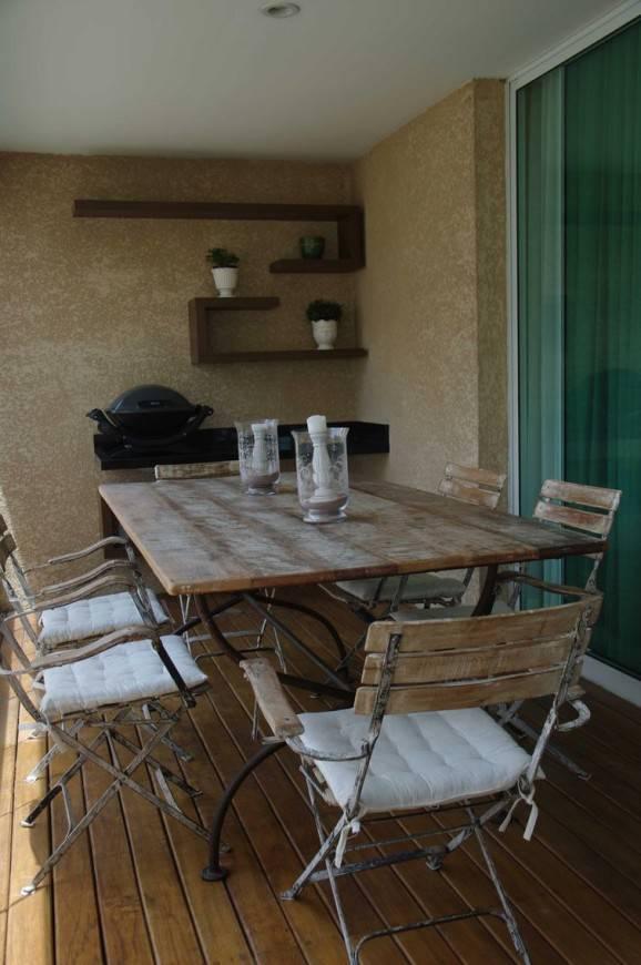 textura de parede na varanda rústica