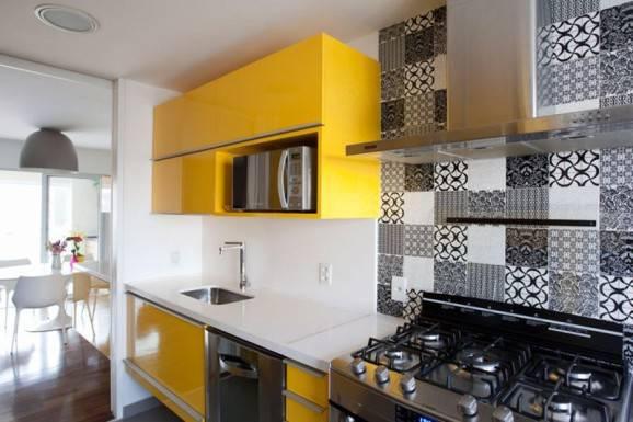 azulejos para cozinha preto