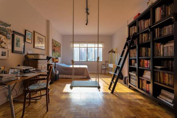 quarto casal home office