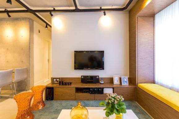 Iluminacao Para Sala De Estar E Tv ~ Sala de tv decorada dicas para iluminação