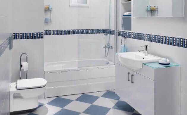 Azulejos para banheiro com desenho