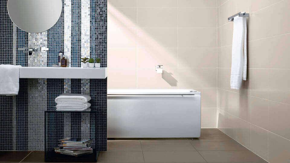 Azulejos para banheiro com revestimento em parede