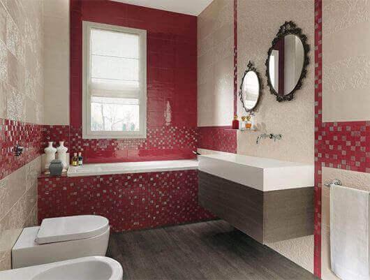 Azulejos para banheiro com textura