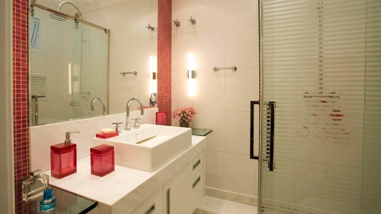 Azulejos para banheiro em moldura