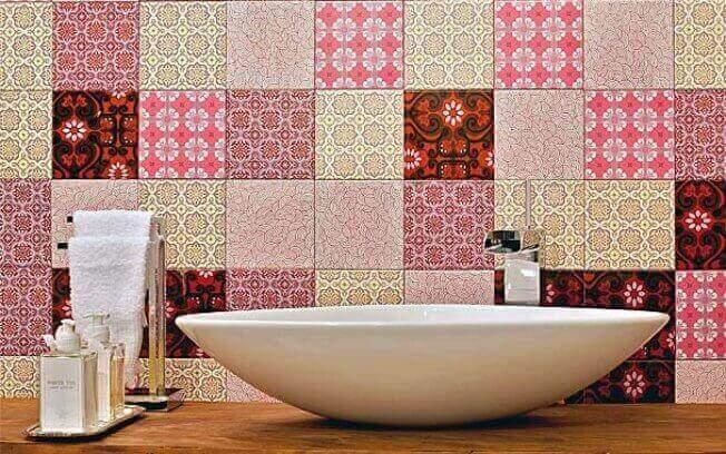 Azulejos para banheiro patchwork