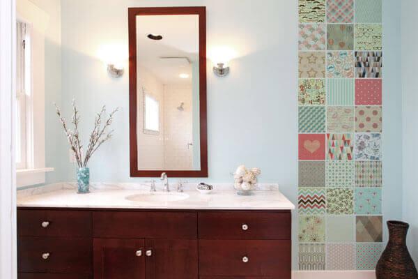 Azulejos para banheiro vintage