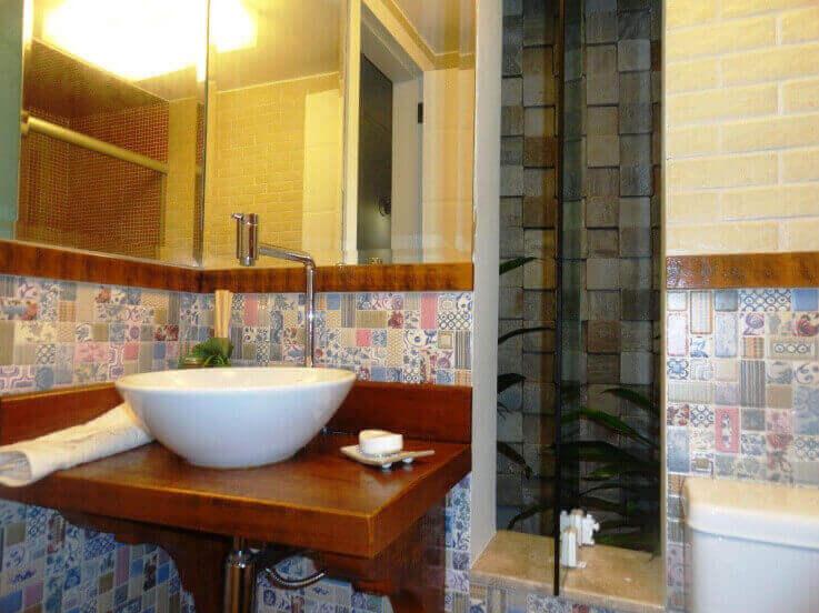 Azulejos para banheiros coloridos