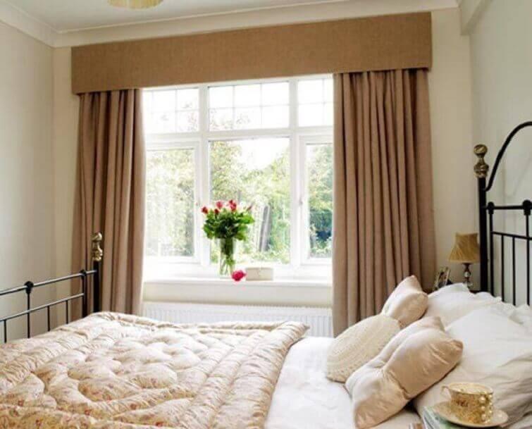Cortinas para quarto de casal decora ambiente