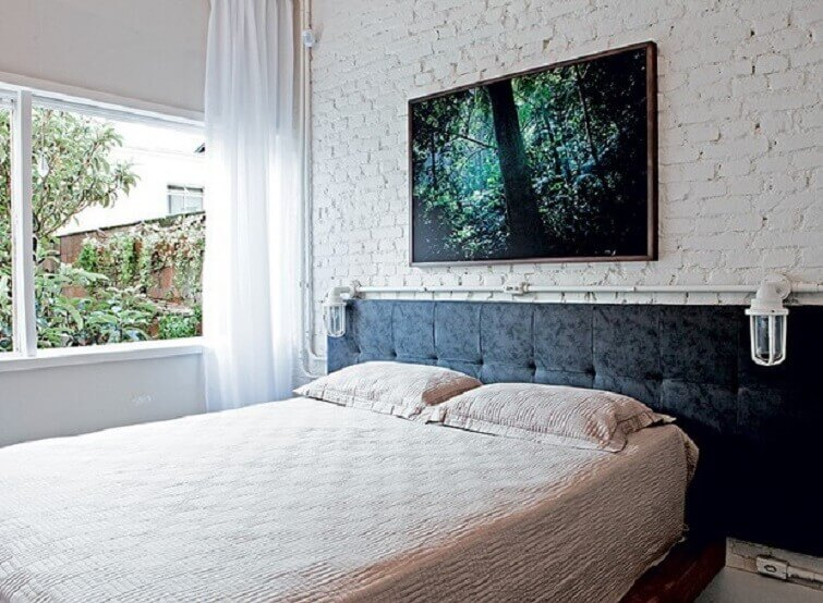 Cortinas para quarto de casal decora com estilo
