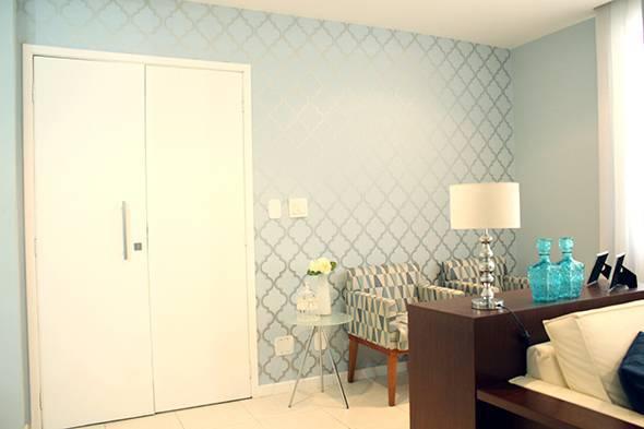 decoração de paredes na sala de estar