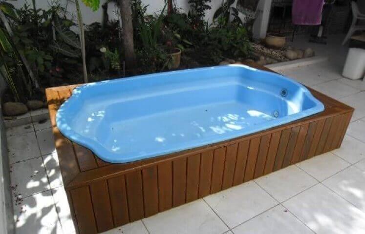 Piscinas pequenas 7 dicas para dar um show 97 exemplos for Decorar piscina elevada