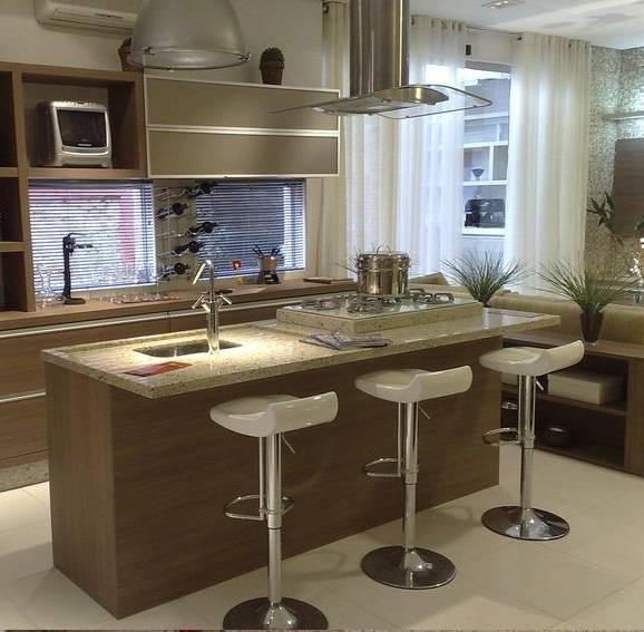 Banquetas para cozinha s o op o para casa pequena - Banquetas para isla ...