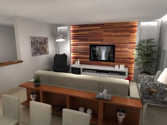 Sala Pequena De Home Theater ~  de sala home theaterSalas de TV dicas de decoração para home
