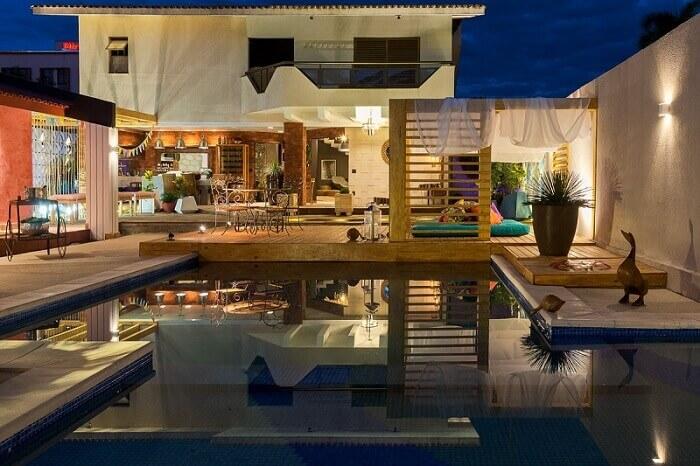 casas com piscina area de relax morar mais por menos goiania 151974