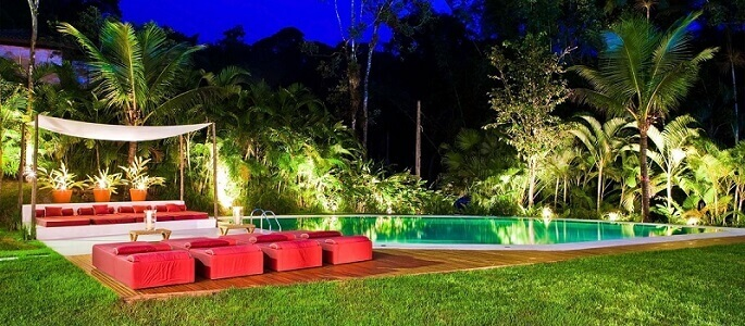 casas com piscina paisagismo iluminacao olegario de sa 107862