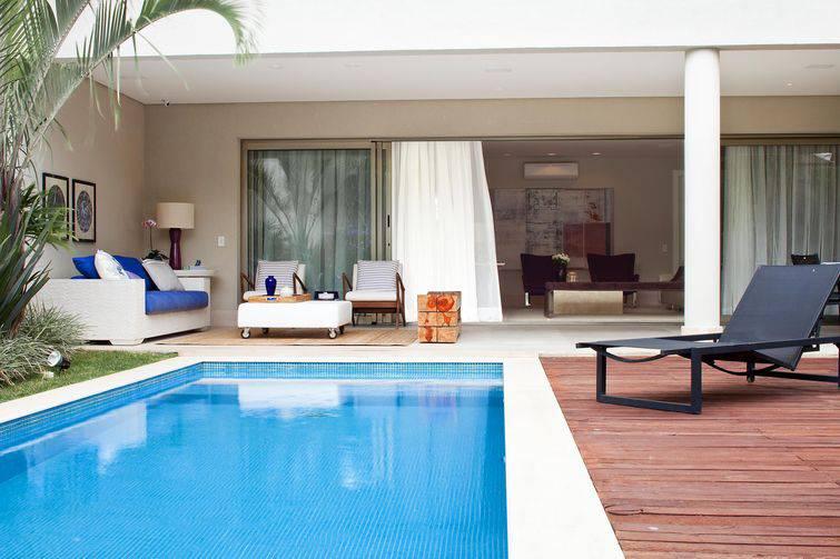 Casas com piscina para regiões de calor