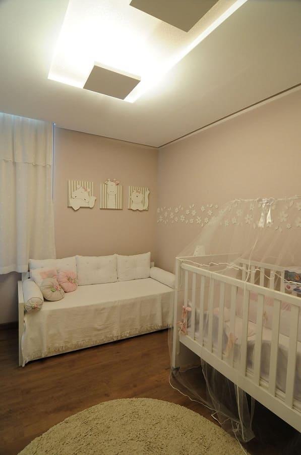decoracao de quarto de bebe feminino cama auxiliar bichos giovanna brigatti 30062