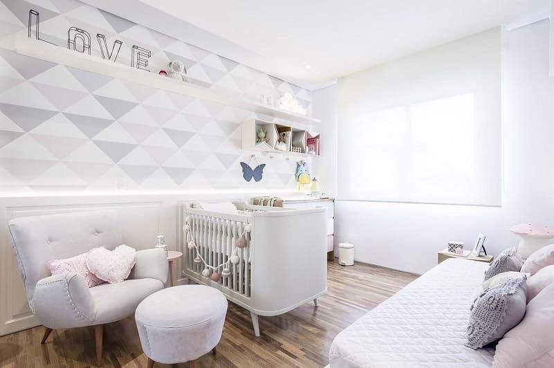 decoracao de quarto de bebe feminino cinza figueiredo fischer 125477