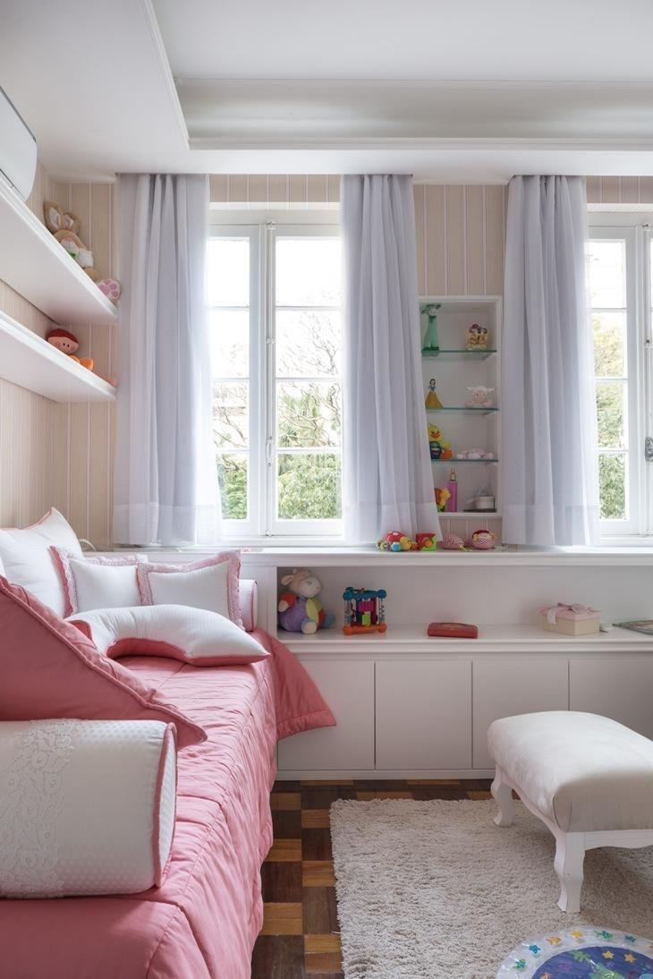 decoracao de quarto de bebe feminino com janela dupla kali arquitetura 64372