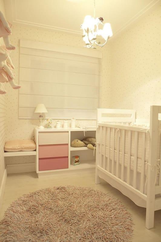 decoracao de quarto de bebe feminino gaveteiro rosa marel 663