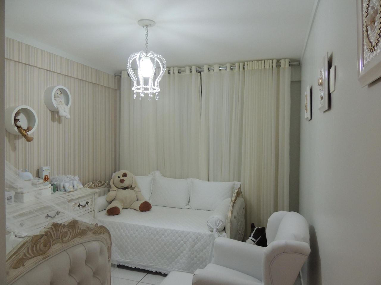 decoracao de quarto de bebe feminino neutro janaina aristides de moura 35276