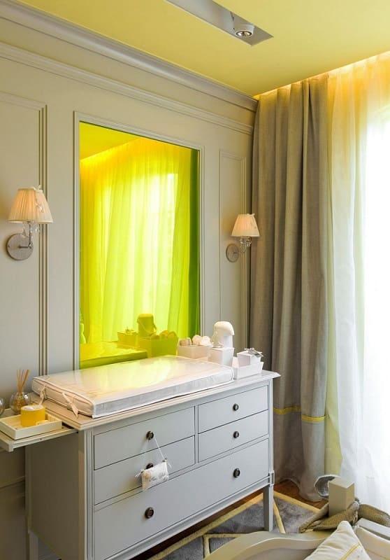 decoracao de quarto de bebe feminino trocador branco diego revollo 5945