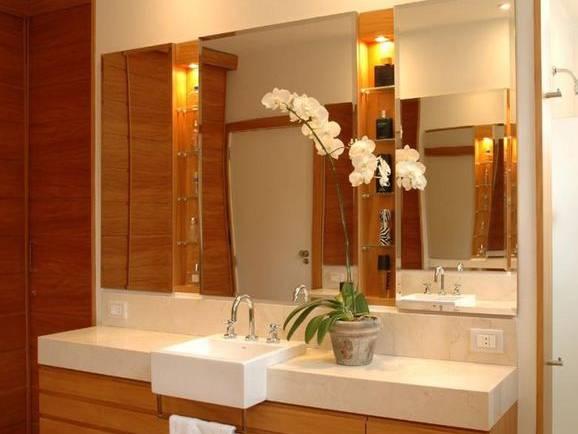 Espelhos para banheiro, modelos para sua decoração