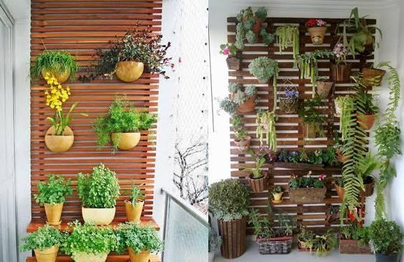 Pequenos jardins