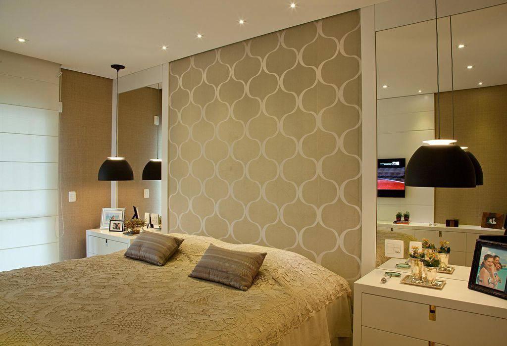69 modelos de papel de parede para quarto de casal para - Papel de pared moderno ...