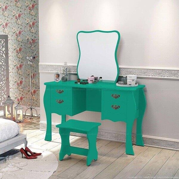 penteadeiras modernas verde