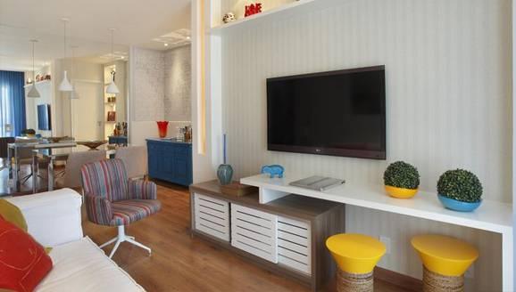 Como Decorar Sala Unica E Pequena ~ Como decorar salas pequenas para que pareçam maiores