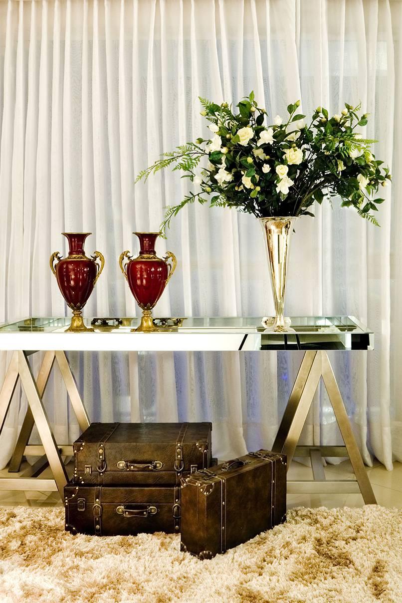 Decoração de salas de estar, conforto, luxo e elegância