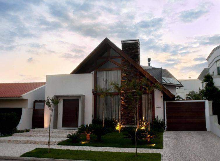fachadas de casas térreas