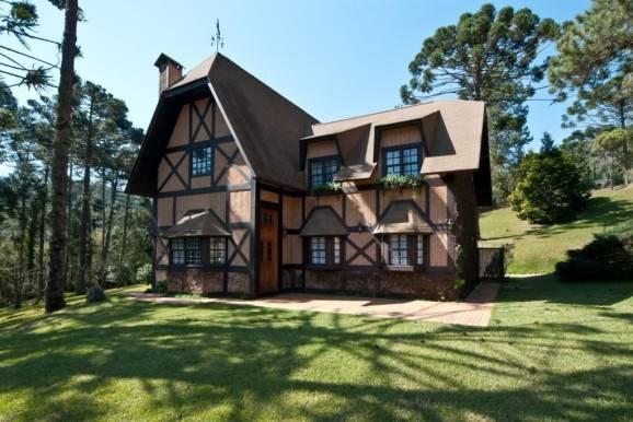 Casa de fazenda area externa
