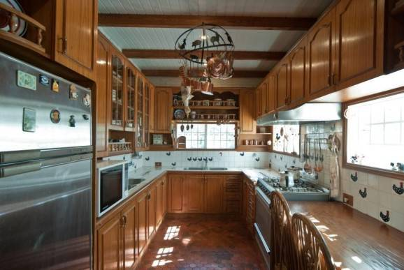 casa de fazenda cozinha rustica