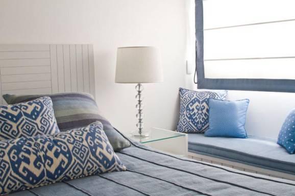 decorando o quarto azul