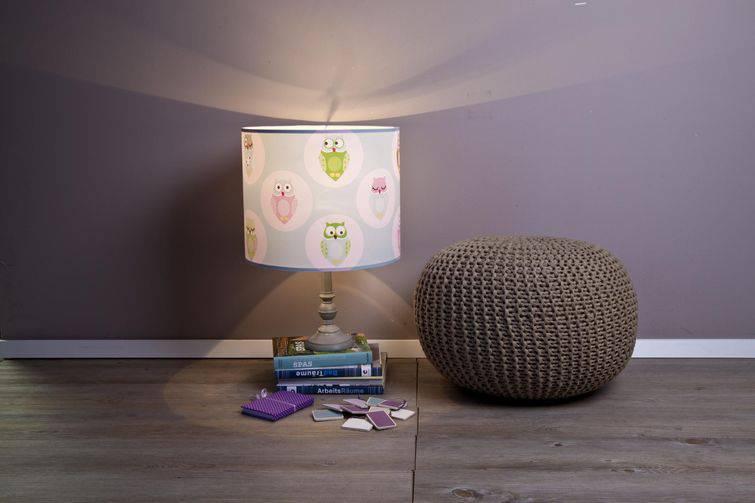 Abajur infantilpara usar no canto da parede do quarto