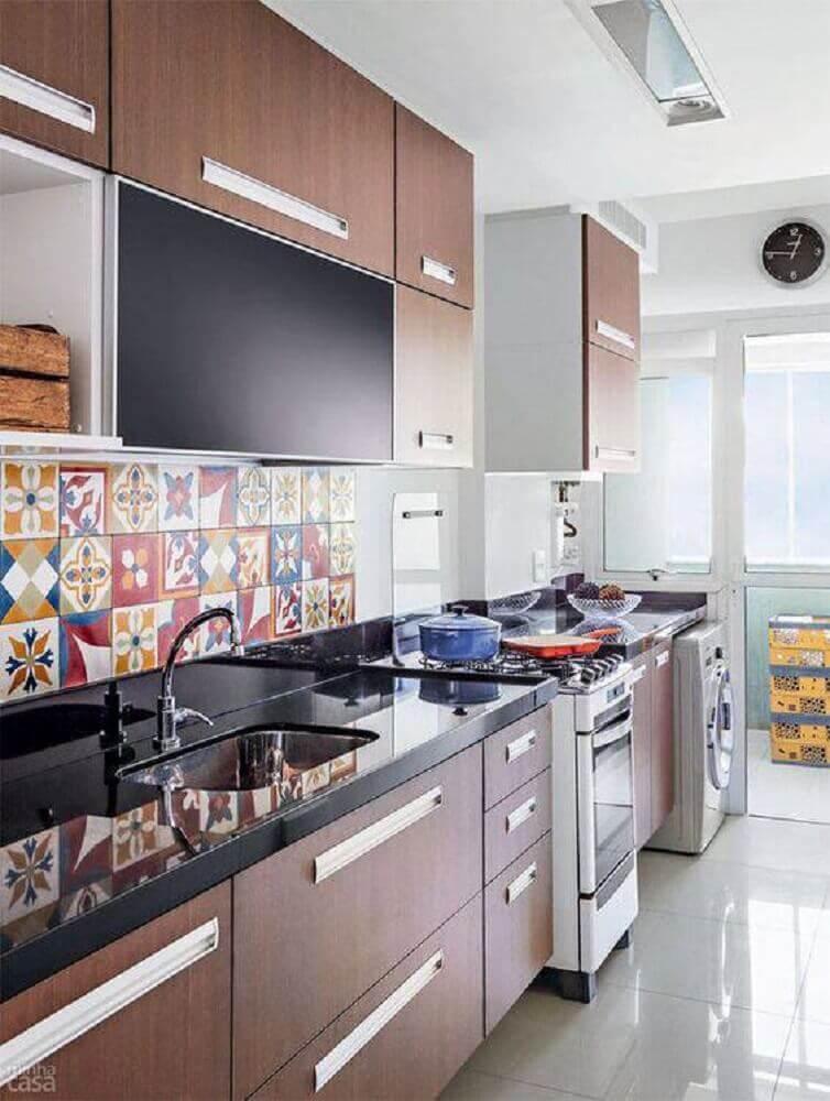 Azulejo para cozinha moderna