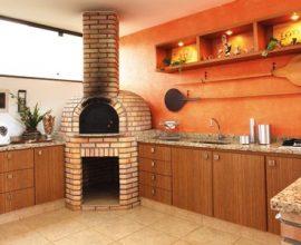 Area de churrasco decoração