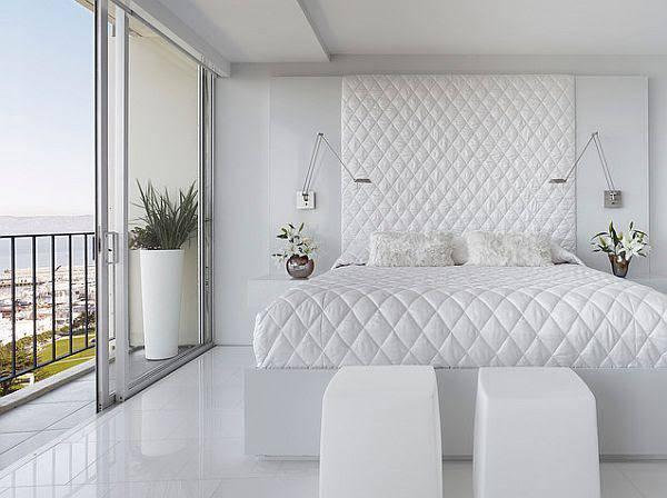 Como decorar meu quarto com móveis brancos