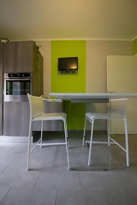 Cozinha com teto de gesso Projeto de Gabriele Barotto