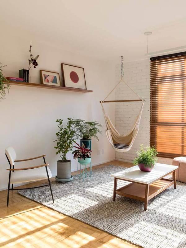 Plantas para apartamento - cadeira Suspensa