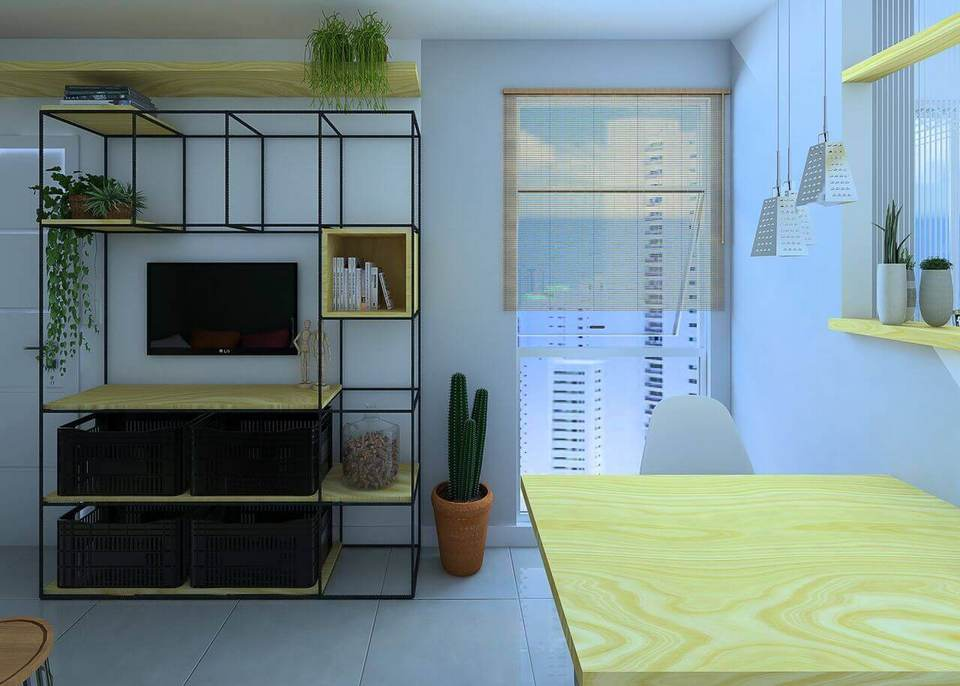 Plantas para apartamento - sala sustentável